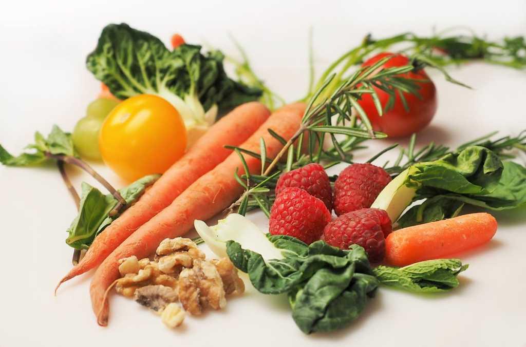건강한 음식들