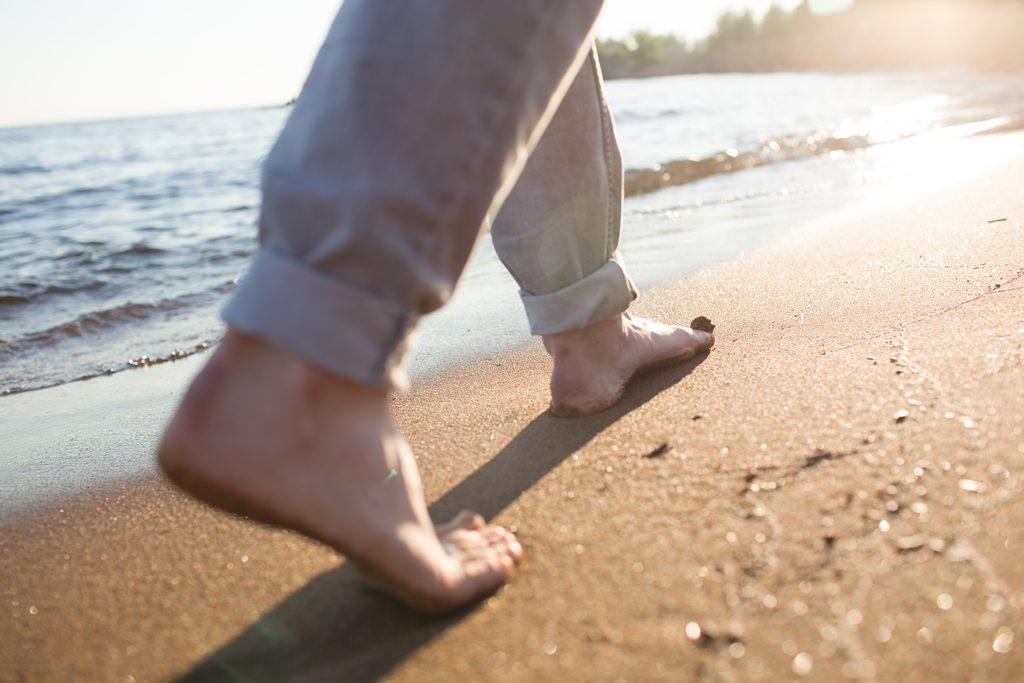 바닷가 산책